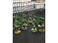 Warhammer AOS Sylvaneth - BEAUTIFUL - Table Ready Models