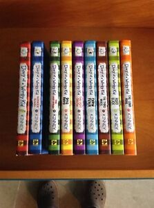 Diary of a Whimpy Kid vol. 1-9