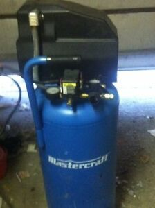 20 Gallon Stand-up Mastercraft Compressor
