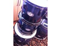 Pearl Birch Shell pack with hardcases