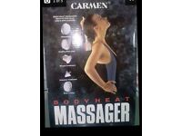 body massager heat CARMEN is new