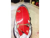 Kneeboard SURFBOARD DIPLOCK FISH 5'7 supercraft/ phoemia finnish