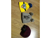 3 Used Kids Hats - Lovely Condition