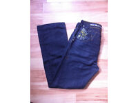 Stunning Mens River Island jeans 30W--30L - 30S - HARDLY USED