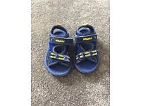 Baby boy Clarks Doodles Sandals size 4 - £4 (Collection Hambleton, Selby)