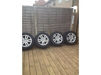 Audi car tyres and wheels 255/55R18