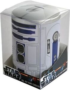 ★ STAR WARS - R2-D2 Metal Can Cooler / Stubby Holder (Ikon) #NEW