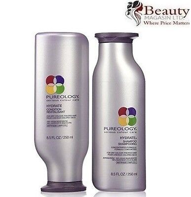 Pureology Hydrate Shampoo and Conditioner 8.5oz Duo Set