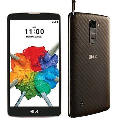 LG Stylo 2 Plus LGMS550 - 16GB - Black (Unlocked) Smartphone Fingerprint Scan