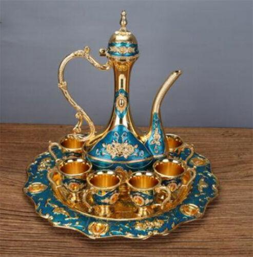 Islam Turkish Moroccan Coffee Tea Set Arab Dubai EID Decoration Home Muslim A1