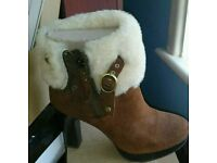 "Brand new BOXED ""UGG BOOTS"" SIZE 5 & half never been worn."