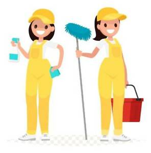 Looking for a job as cleaners