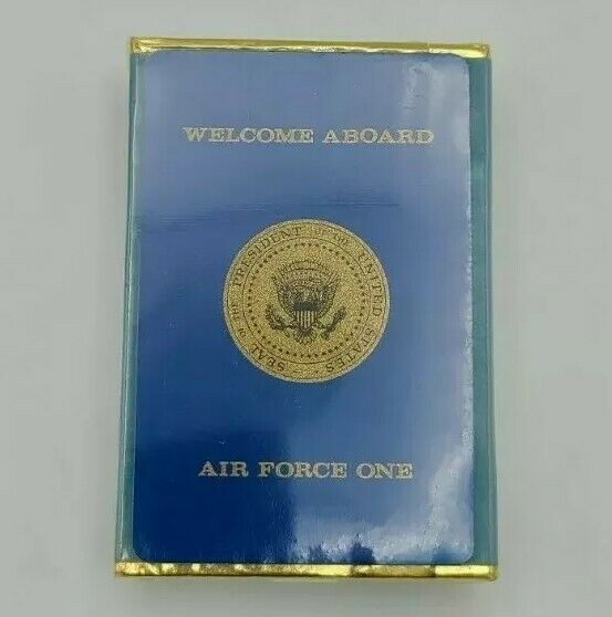 Air Force One Welcome Aboard Sealed Playing Cards with Presidential Seal