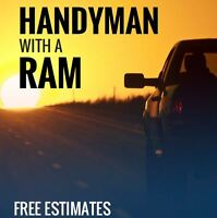 HandyMan with a Ram - Free Estimates