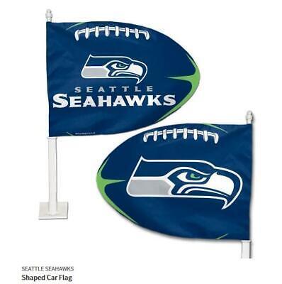 o Flagge,NFL Football,Car Flag,Neu (Seahawks Auto)