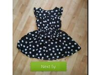 Next polka dot dress age 5 years