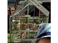 Eden Greenhouse with safety glass