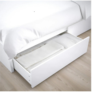 Ikea Bed with Storage Malm Twin $100