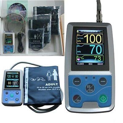 Cefda Contec Abpm50 Ambulatory Automatic Blood Pressure Monitornibp3 Cuffs