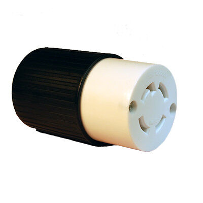 L14-30 Locking Female Connector 30A 125/250V (L14-30C) - UL APPROVED