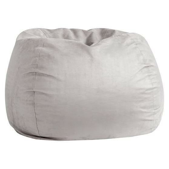 Amazing Light Grey Fabric Bean Bag In Holloway London Gumtree Ibusinesslaw Wood Chair Design Ideas Ibusinesslaworg