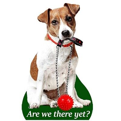 JACK RUSSELL AIR FRESHENERS X 2 FOR YOUR CAR HOME LONG LASTING FRAGRANCE