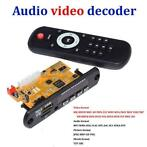 Stereo Video Decoder Board DIY TV BOX RM/RMVB FLAC APE BT