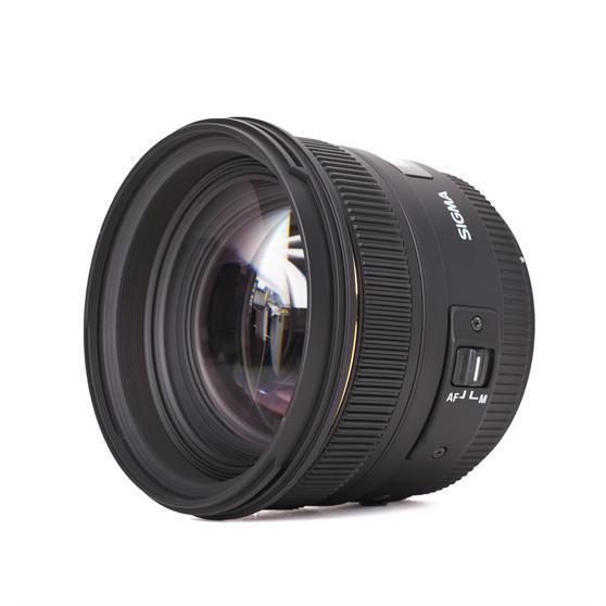 Sigma 50 mm f1.4 EX DG HSM 50mm Festbrennweite für Canon