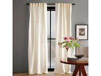 Shortening the drop of curtains service