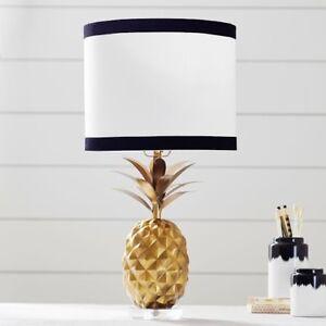 Pottery Barn Teen - 2 Emily & Merrit Pineapple Table Lamps