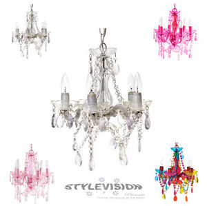 CEILING-GYPSY-LIGHT-CHANDELIER-5-6-ARM-LAMP-SMALL-4-COLOURS-AVAILABLE-NEW