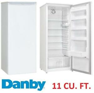 NEW* DANBY 11 CU. FT. REFRIGERATOR DAR110A1WDD 140420393 DESIGNER FRIDGE