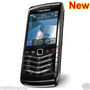 New BlackBerry Pearl 3G 9105 - Black (Unlocked) Smartphone