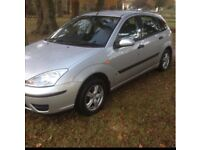 2004 FORD FOCUS 1.4 MOTD TO AUGUST LOW INSURANCE GRP ALLOY WHEELS VERY GOOD CONDITION