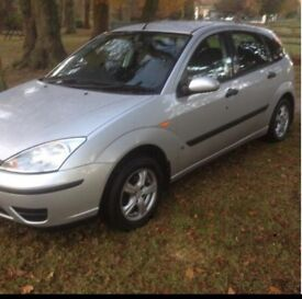 2004 FORD FOCUS 1.4 MOTD TO AUGUST LOW INSURANCE GRP ALLOY WHEELS DRIVES WELL!