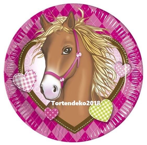 Tortenaufleger Pferd Tortenbild Esspapier/Zuckerpapier Geburtstag Tortendeko
