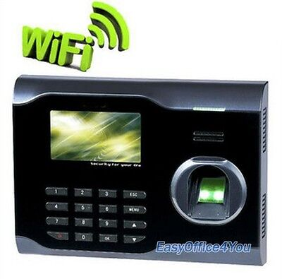 Biometric Attendance System With Fingerprint Wifi Functionfree Software U160
