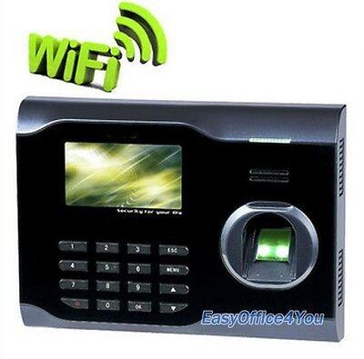 3 Inch Tft Screen Biometric Fingerprint Time Attendance Systemwifiusbethernet