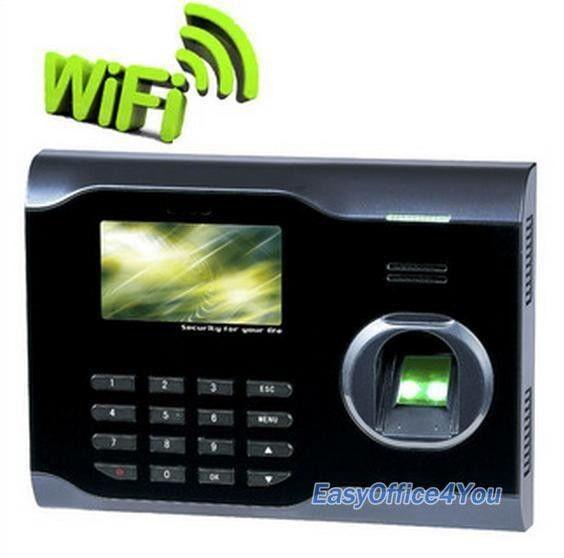 Biometric attendance system With Fingerprint WIFI Function+Free Software U160