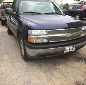 2002 Chevrolet Silverado Longbox