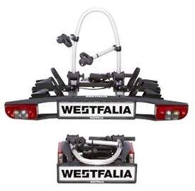 West fella 2 bike carrier for car tow bar, as new condition