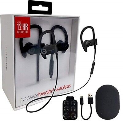 Authentic Beats by Dr Dre Powerbeats3 Wireless In-Ear Headphones BLACK WHITE