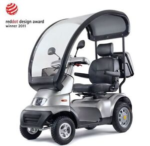 Breeze S4 - 4 Wheel Mobility Scooter – Model : FTS4114