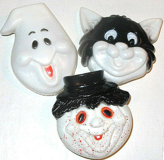 LOT of 3 Vintage TOYS Mint Condition FUN Shackman HALLOWEEN CLICKER  Clackers