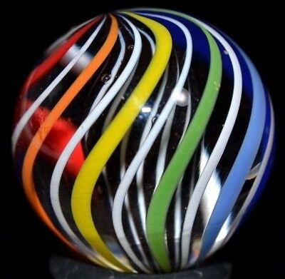 Zebra Lime Window (JODY FINE HANDMADE GLASS MARBLE/.888