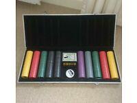 Large briefcase poker set