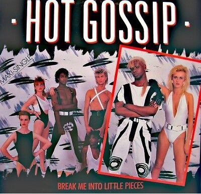 ++HOT GOSSIP break me into little pieces/instrumental MAXI 1984 ARIOLA EX++