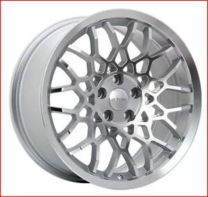 Roues (Mags) Ruffino Meister Argent - Façade diamant 18 pouces