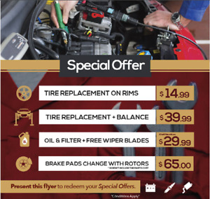 ★Q1 Auto Service ★ MILTON ON, ★ CHEAP USED TIRES ★