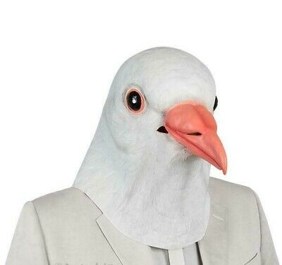 Dove Costume (DOVE BIRD MASK Costume Halloween Party Funny Weird Gag Gift)